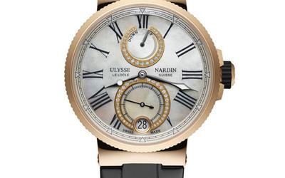 雅典全新航海天文臺女表Marine Chronometer