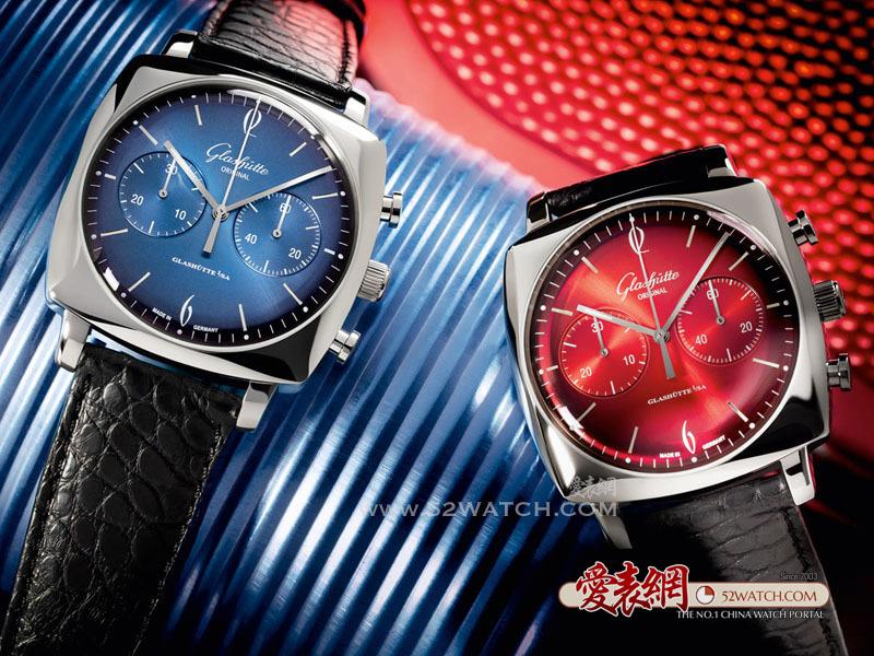 复古摩登 方形魅力:格拉苏蒂原创全新鎏金六零年代方形系列腕表