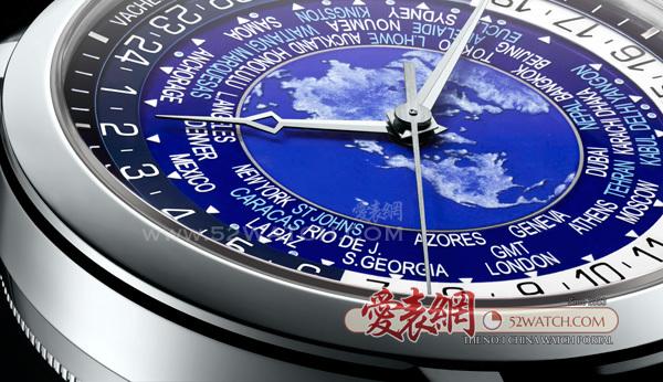江诗丹顿全新传袭系列世界时间腕表