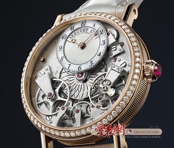 宝玑全新Tradition传世系列Dame腕表