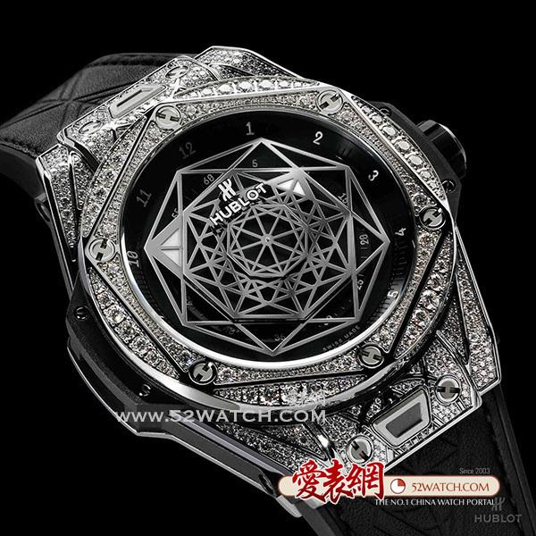 HUBLOT宇舶表2017年七夕倾情呈现 Big Bang Sang Bleu 刺青腕表