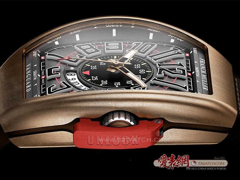 Franck Muller 发表品牌首支飞行限量青铜腕表