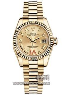 Rolex179178 香檳色鑲鉆(179178 香檳色鑲鉆)手表報價資料