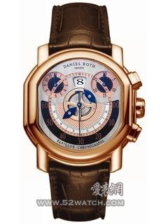 宝格丽 BvlgariDaniel Roth Papillon Chronographe(BRRP46C14GLCHP)手表报价资料