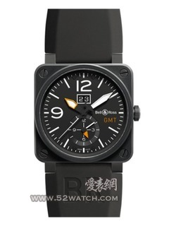 柏莱士 Bell & RossBR 03-51 GMT CARBON(BR 03-51 GMT CARBON)手表报价资料
