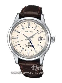 SeikoSBGM003J白盘棕色表带(SBGM003J白盘棕色表带)手表报价资料