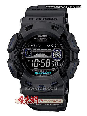 Casio GW-9110GY-1 GW-9110GY-1手表照片
