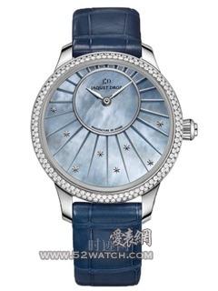 时分小针盘系列腕表 珍珠母贝35毫米时分小针盘腕表